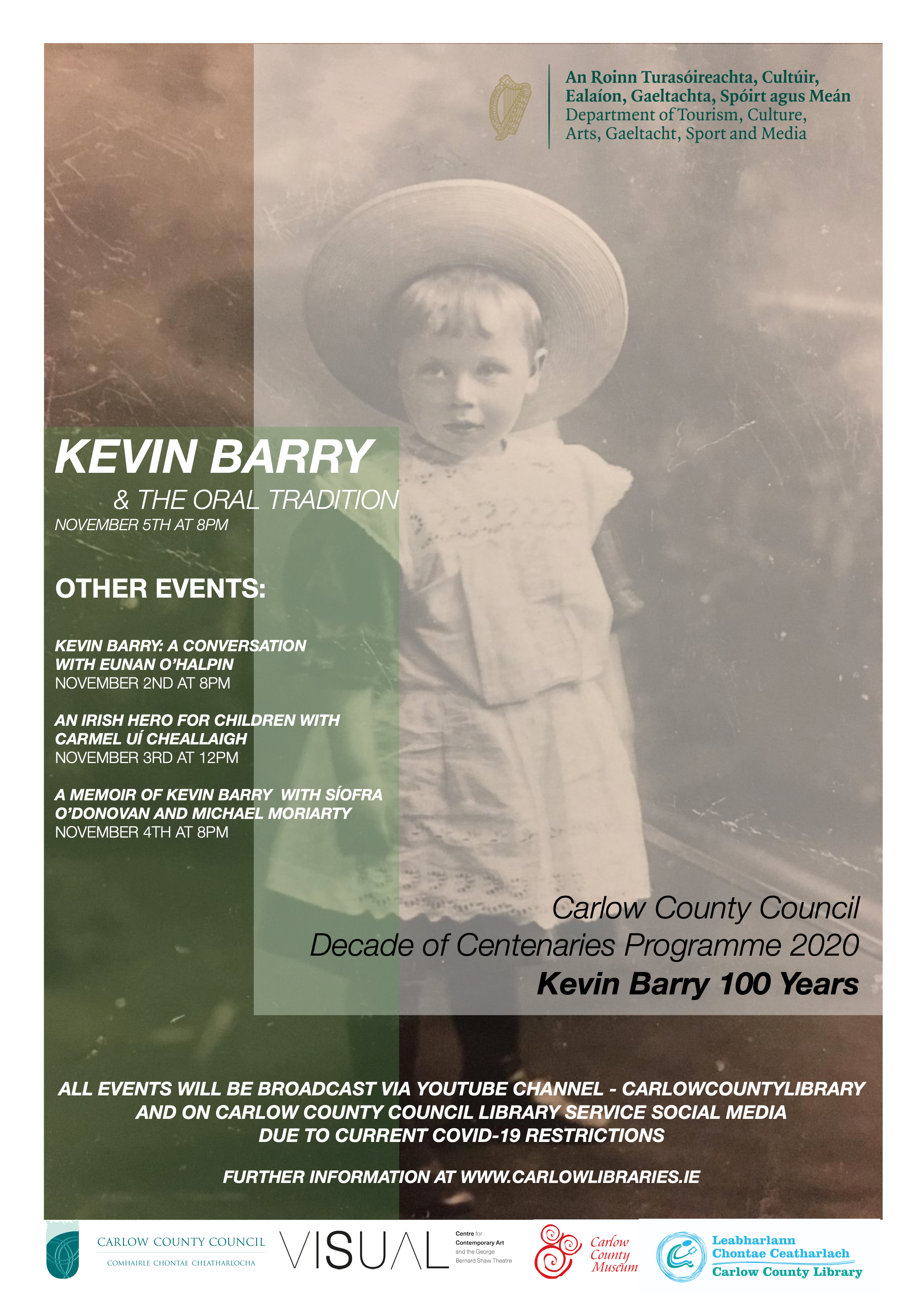 Kevin Barry and the Oral Tradition